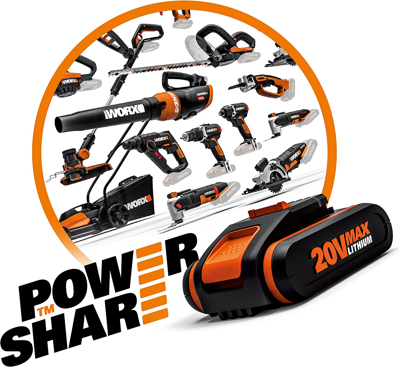 Worx WX856.9 20V S//bat Polisher