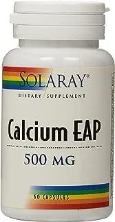 Solaray Calcium EAP Capsules, 500mg, 60 Count