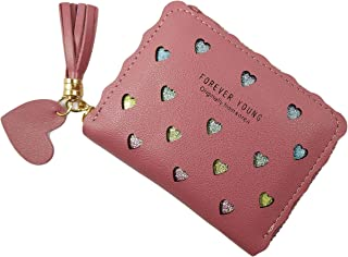 Surbhi Small Women's Wallet | Wallets for girls | Credit Card Holder | Coin Purse Zipper Small Secure Card Case/Gift | zipper with tassel detailing | cute wallets | Mini wallets for Women Zipper | Trending wallet for women and girls