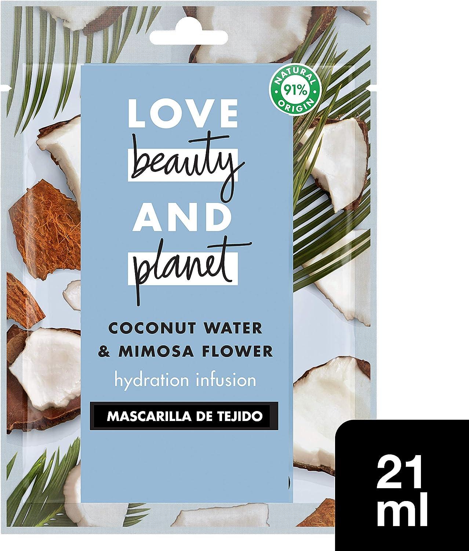 Love Beauty and Planet Blooming Radiance Mascarilla manteca de muru muru & rosa 21ml
