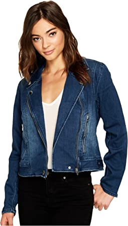 Jersey Blue Moto Jacket in Hello Moto