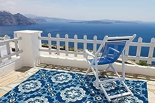 Kaleen Rugs Matira Collection MAT12-17 Blue Handmade 3'X5' Rug