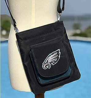 Charm14 NFL Traveler Crossbody Bag womens- Embroidered Logo