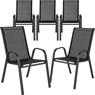 Best stackable sling back patio chairs Reviews