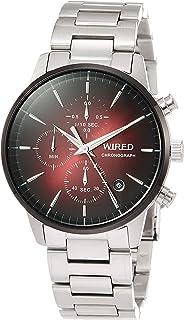 [セイコーウォッチ] 腕時計 ワイアード TOKYO SORAモデル ワインレッド文字盤 AGAT421 メンズ シルバー