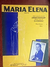 MARIA ELENA waltz (Lorenzo Barcelata 1953 SHEET MUSIC) EXCELLENT condition featured by Lawrence Welk (pictured)