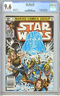 Star Wars #74 CGC 9.6 OWT White Pages (1983) 2061520007