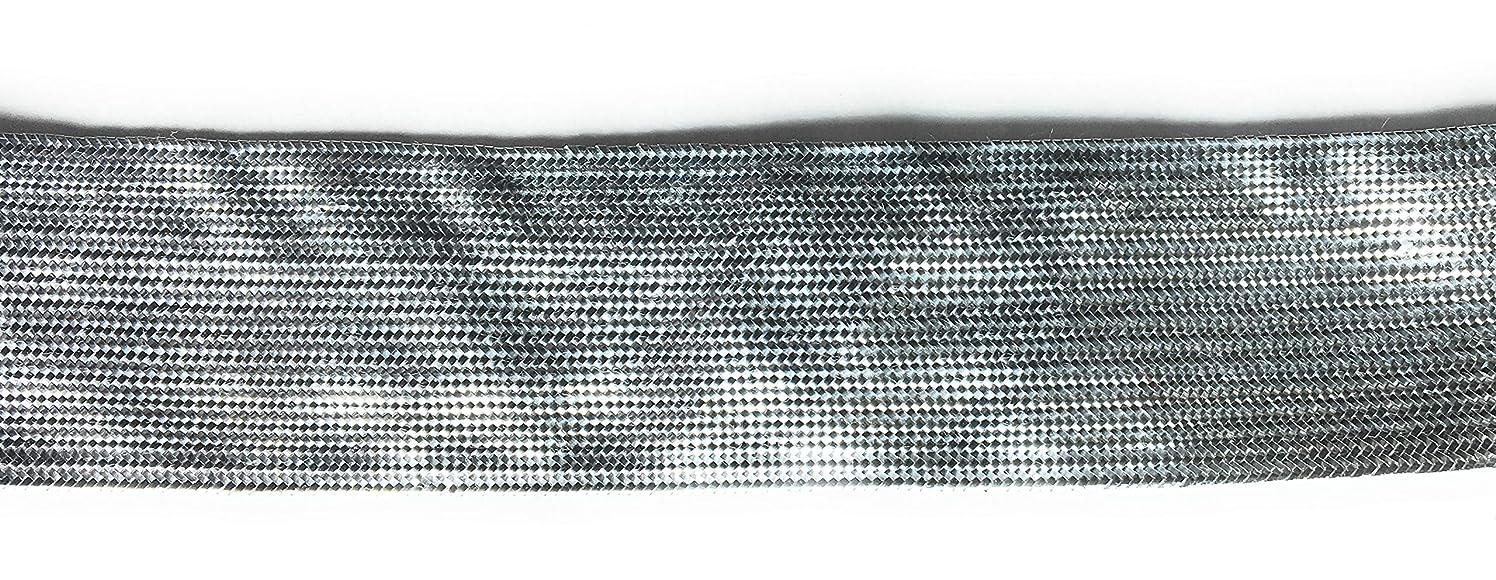 1 inch Silver Metallic Ribbon -Silver Metallic 5 Yard