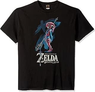 Nintendo Men's Zelda Breath of The Wild Mipha Paint T-Shirt
