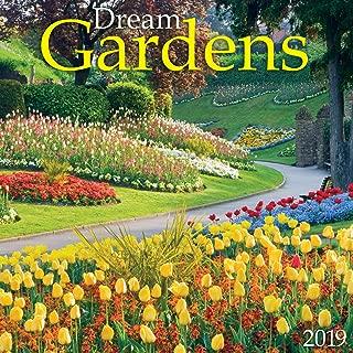Dream Gardens 2019 Wall Calendar