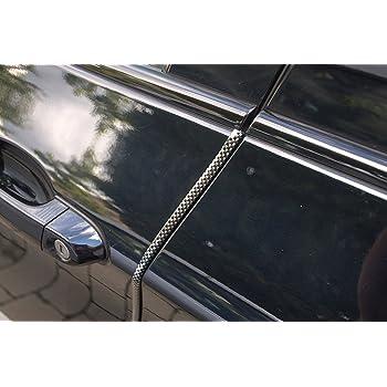 2 Meter T/ürkantenschutz Chrom T/ürrammschutz Gummi sch/ützen Sie effektiv Ihren kostenbaren Auto Lack