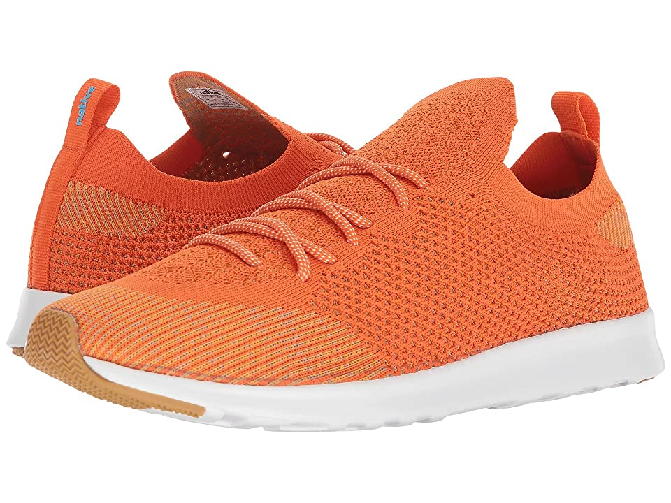 Native Shoes AP Mercury Liteknit (Sunset Orange/Shell White/Natural Rubber) Athletic Shoes
