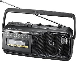 Panasonic RX-M40DE-K - Radio Cassette Portátil (Alta Calidad, Potencia 1W, 88-108 MHz, 53-160 kHz, Radio AM/FM, Ligero y Compacto 10 cm ) color negro