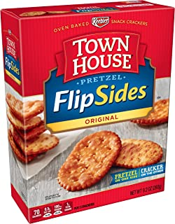 Keebler, Town House Pretzel FlipSides Thins, Snack Crackers, Original, 9.2 oz
