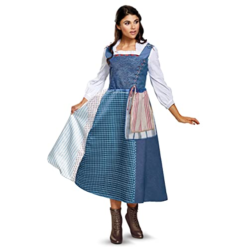 Disney Women s Belle Village Dress Deluxe Adult Costume 53c668709