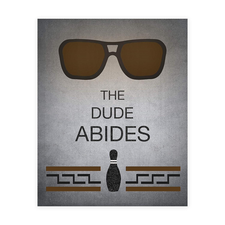 The Big Lebowski excellence Virginia Beach Mall Print Unframed Dude 8x10-18x24 Abides