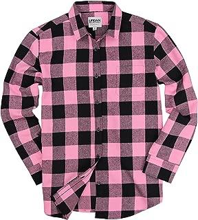 Urban Boundaries Womens Buffalo Plaid Long Sleeve Flannel Shirt