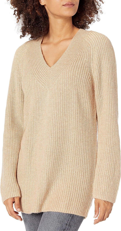 Lucky Brand Women's Long Sleeve V-Neck Pullover Sweater