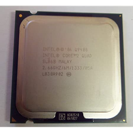 Amazon Com Intel Core 2 Quad Processor Q9400 2 66ghz 1333mhz 6mb Lga775 Cpu Oem Computers Accessories