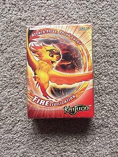 KAIJUDO RED FIRE CIVILIZATION PROMO 40 CARD STARTER DECK NEW RARE TCG CCG .HN#GG_634T6344 G134548TY90478