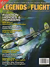 Legends Of Flight From Aviation History Magazine COLLECTOR'S EDITION Manfred Von Richthofen The Red Baron DYNAMIC DUO DICK BONG & TOM LYNCH
