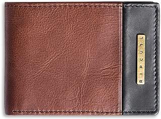 Rip Curl Men's Endo Clip Rfid Slim Leather Wallet Brown