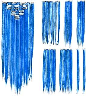Best cheap blue hair extensions Reviews