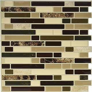Quinco SM1034-6 Wall Tile, 10.2 in L X 9.1 in W X 3/4 in T, Keystone, 4 Piece