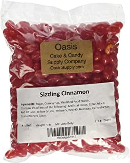 Jelly Belly Red Jelly Beans, Sizzling Cinnamon, 1 Pound