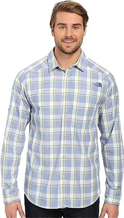 Long Sleeve Traverse Plaid Shirt