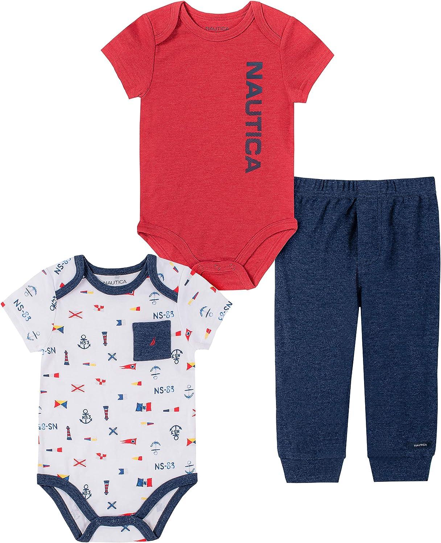 Nautica baby-boys Cheap bargain Regular dealer Bodysuit Set Pants
