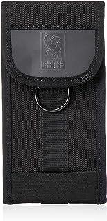 [クローム] LARGE PHONE POUCH BLACK/BLACK 撥水 リフレクター付 携帯ケース