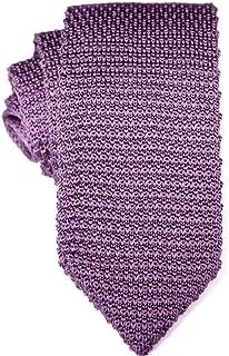 Knit Skinny Tie | Knitted Slim Tie for Men | Groomsmen Wedding Neckties