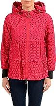 Moncler Women's ETAIN Fuchsia Full Zip Windbreaker Jacket