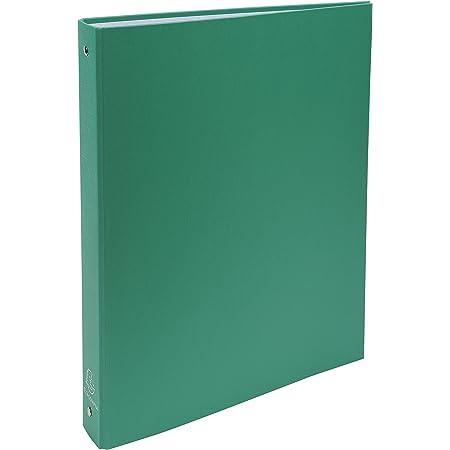 Exacompta 51373E - Carpeta con 4 anillas, A4, color verde