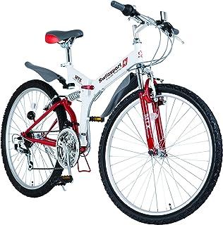 Switzsport-Tech (スウィツスポートテック) AIGLE〔エイグル〕 フルサスペンション MTB型26インチ折りたたみ自転車 【FRAGSHIPモデル】シマノ18段変速 MDL31006