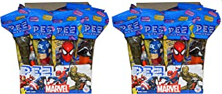 Marvel with Guardians of The Galaxy PEZ Candy Dispensers Party Favors (Pack of 24)