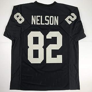 59573e1cb7c Unsigned Jordy Nelson Oakland Black Custom Stitched Football Jersey Size  Men's XL New No Brands/