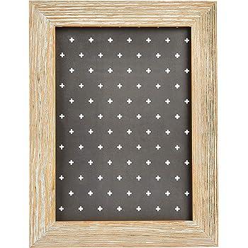 "AmazonBasics Classic Wood Picture Frame - 5"" x 7"", Driftwood"