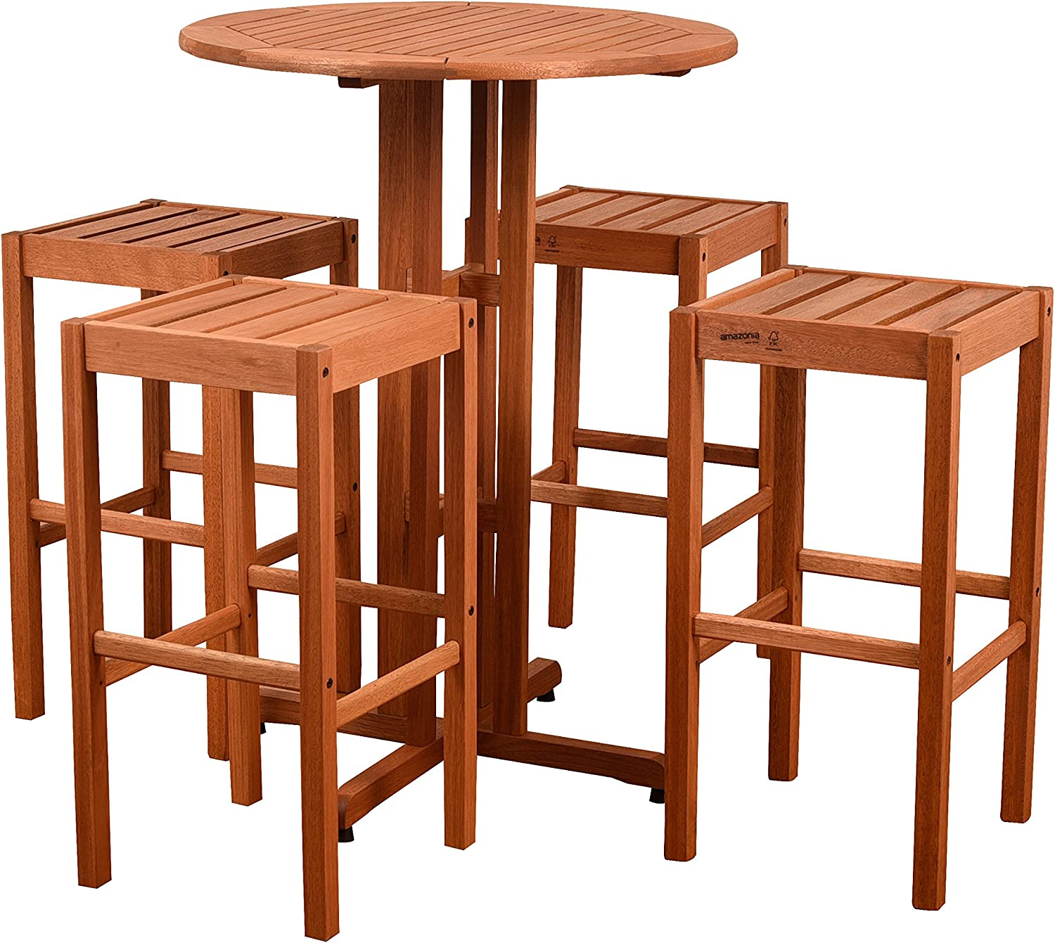 Amazonia Ibiza 5 OFFicial mail order Piece Set Patio Bar Max 47% OFF