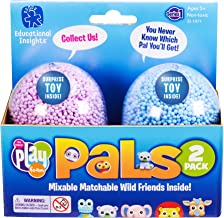 Educational Insights Playfoam Pals Wild Friends 2 Pack: Collectible Toy with Original Playfoam, Assorted Colors