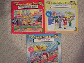 Magic School Bus Classics Set of 3 - Gets Baked in a Cake, In the Arctic and Takes a Dive