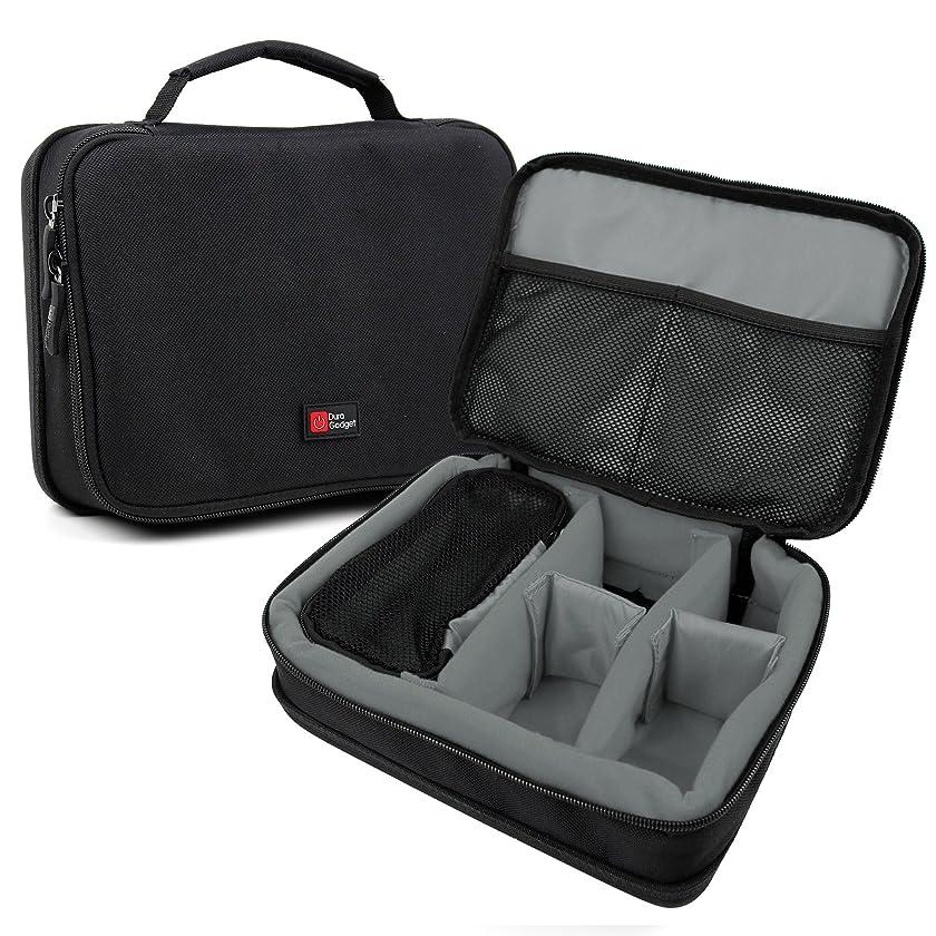 DURAGADGET Protective EVA Case (in Grey) - Compatible with The Zoom H1, Zoom H2N, Zoom H4n Pro, Zoom H5 & Zoom H6 Voice Recorders