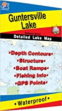 Guntersville Lake Fishing Map