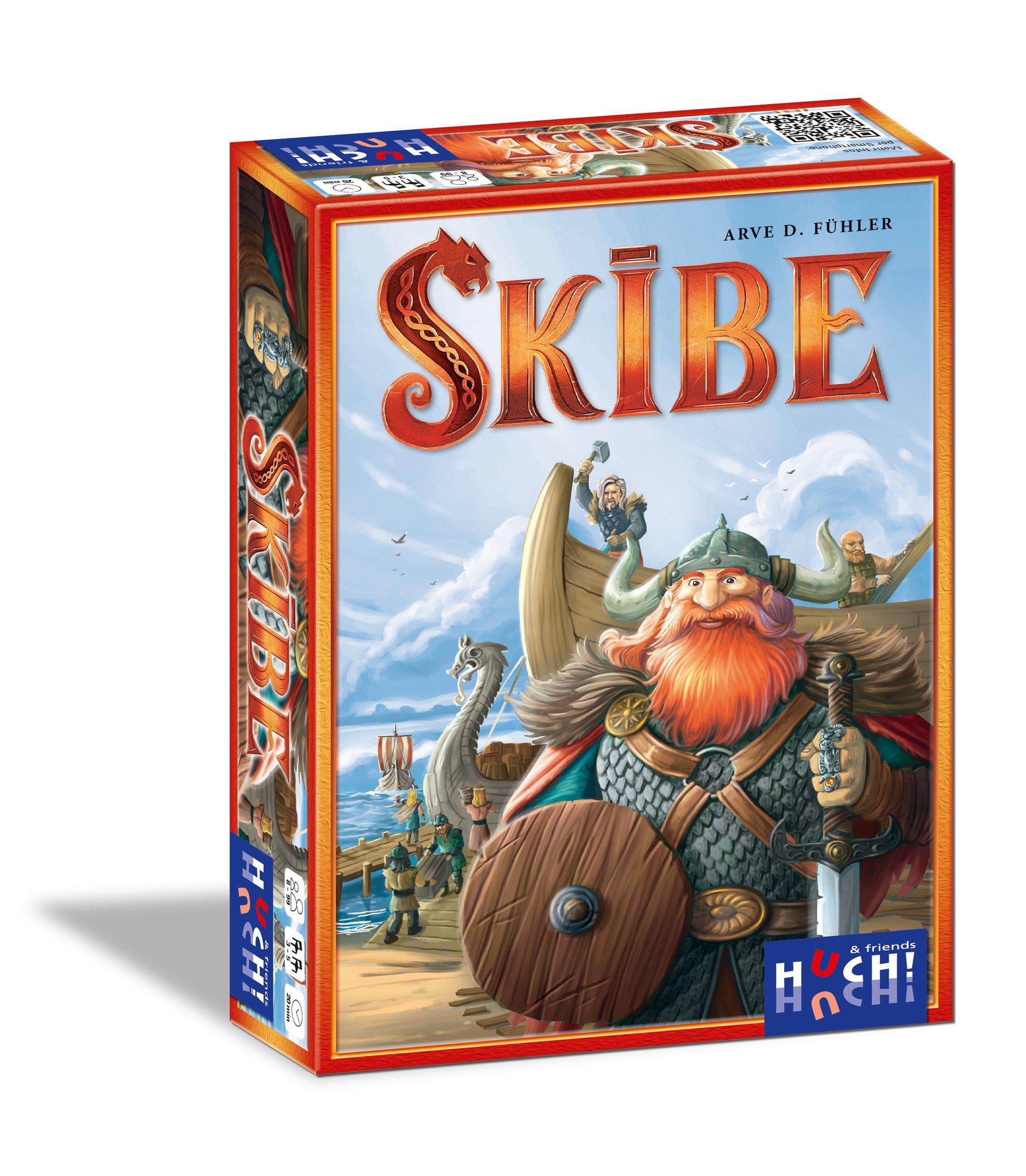 Huch & Friends 879325 – skibe, Juego de Mesa.: Fühler, Arve: Amazon.es: Juguetes y juegos