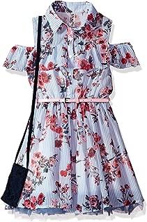 Beautees Big Girls' Shirtwaist Dress