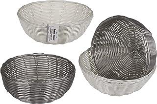 Invero - Juego de 2 cestas de plástico para Cocina, 20 cm,