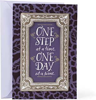 Hallmark Mahogany Sympathy Card (One Step One Day)