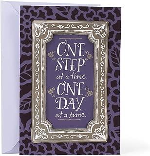 Hallmark Mahogany Sympathy Card (One Step One Day)