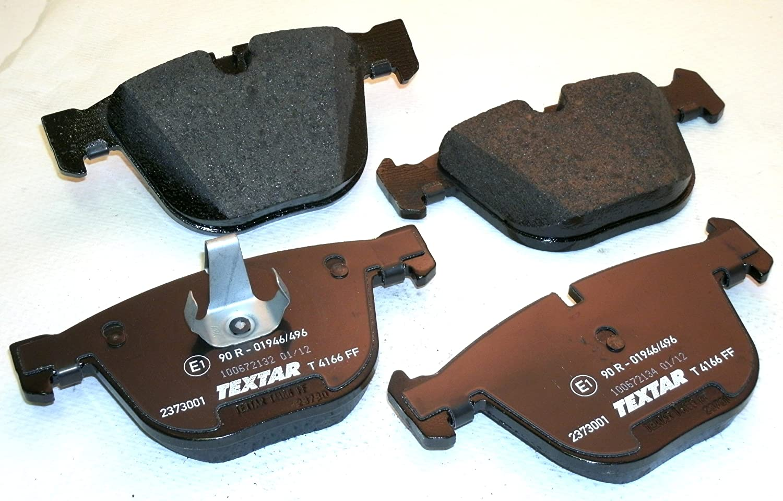 MANUFACT Textar Disc Brake Pad Set Rear,Front